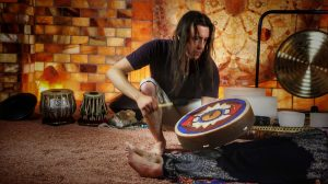 Multi-instrumental Healing Vibration Sound Bath with Tarek Weber @ The Salt Cave at The Centered Stone