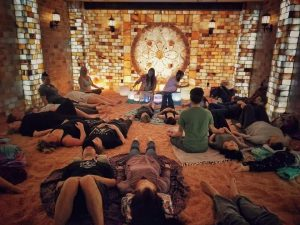 Adult Crystal Sound Bath with Xistential In The Salt Cave @ The Centered Stone