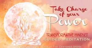 TAKE CHARGE of your POWER ☆Transformative Mindset Guided Meditation☆ In the Salt Cave @ The Centered Stone