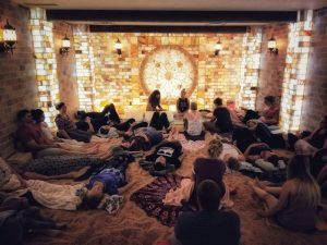 Healing Sound Bath Journey in The Salt Cave,  with Balance & Soulshine @ The Centered Stone